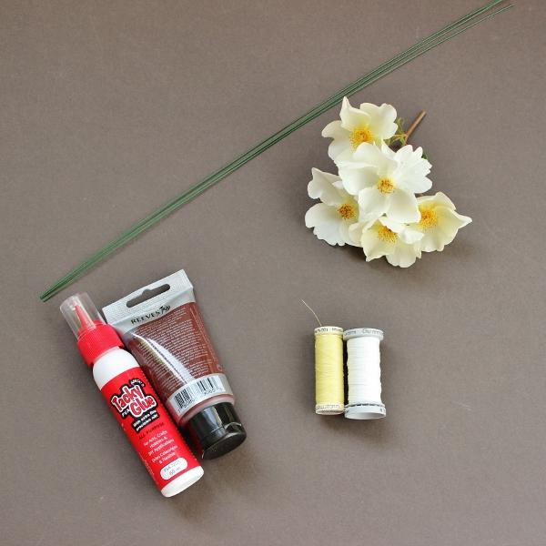 how to make flower stamens 1