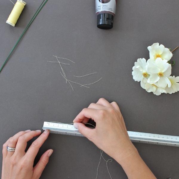 how to make flower stamens