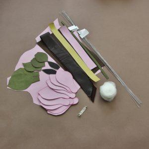 leather magnolia kit