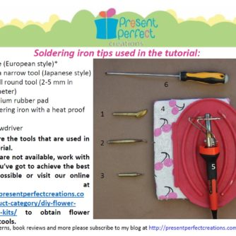 velvet lily tools