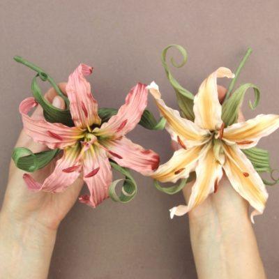 satin lily kit