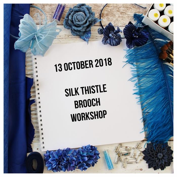 13 october 2018 silk thistle workshop presentperfect creations silk thistle brooch mightylinksfo