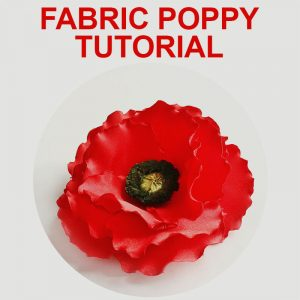 Fabric Poppy Tutorial