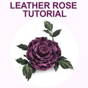 Leather Rose Tutorial