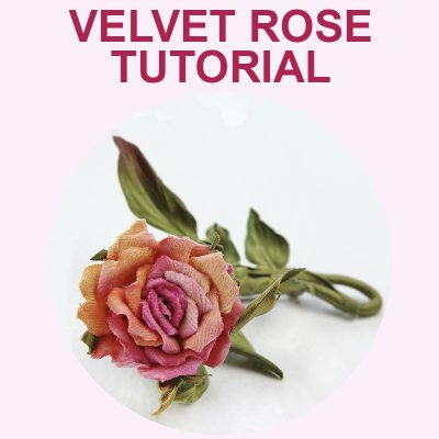 Miniature Velvet Rose Tutorial