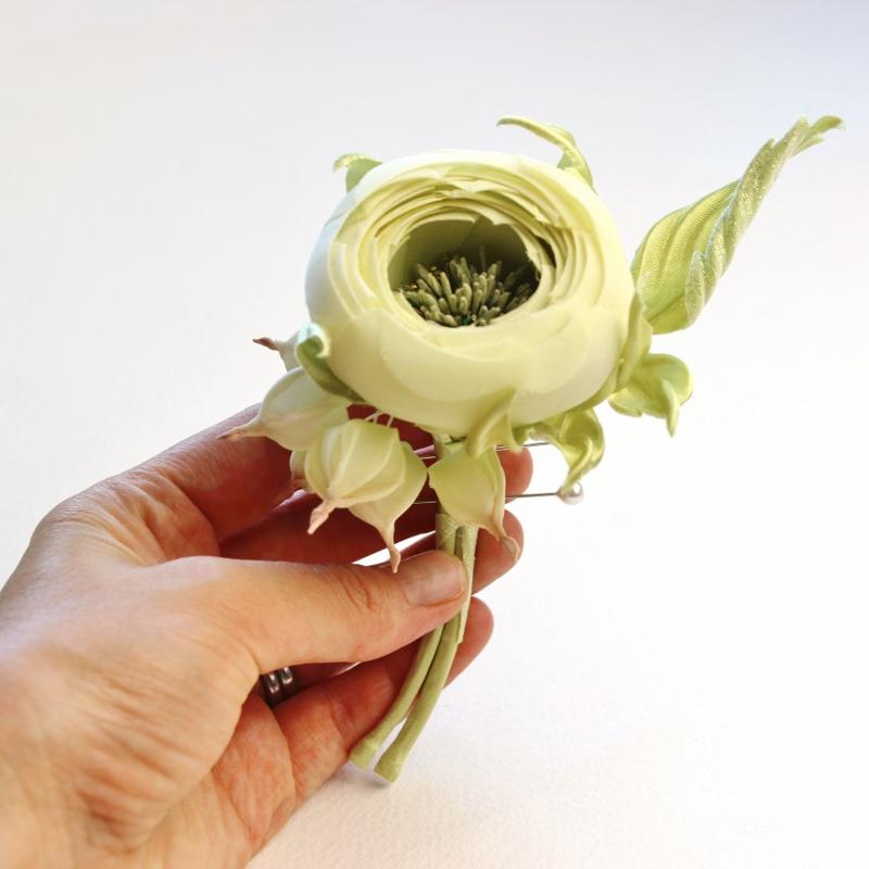 silk cropped petal rose tutorial