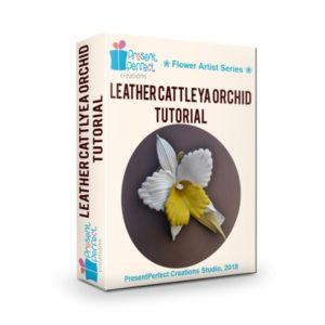 leather cattleya orchid tutorial