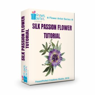 3d Silk Passion flower tutorial