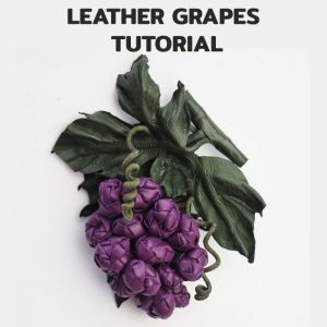 leather grape tutorial