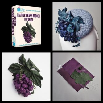 leather grape tutorial