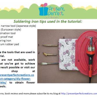 silk iris tools