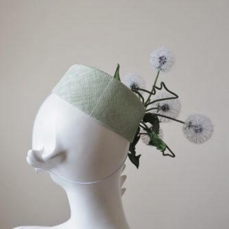 silk dandelion clock hat