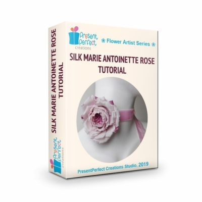 silk marie antoinette rose tutorial