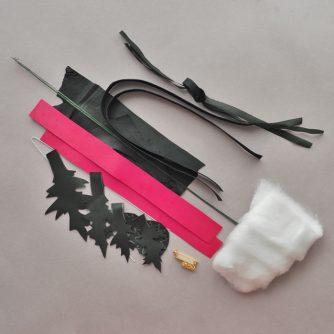 diy leather thistle kit