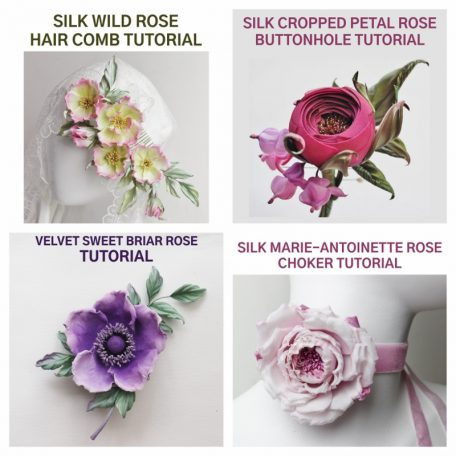 4 for the price of 3 silk rose tutorial bundle