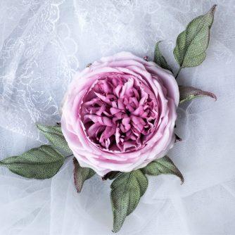 linen rose corsage 800