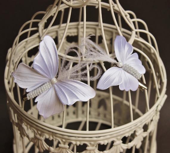 extra shiny rayon satin fabric butterflies