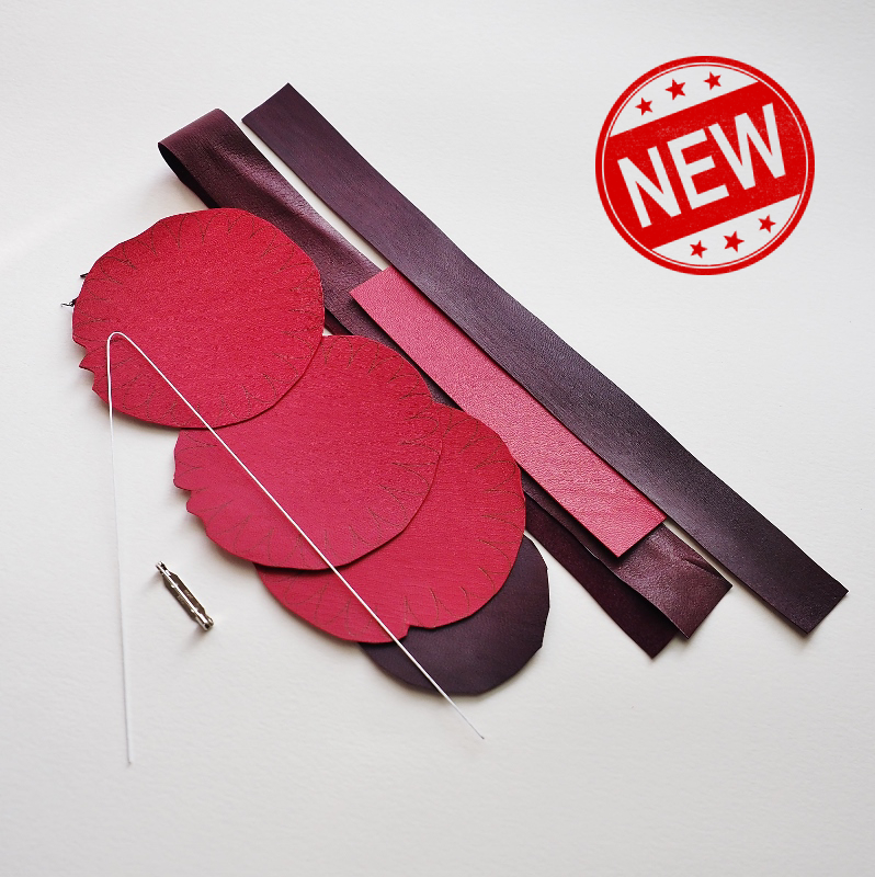 leather gerbera kit