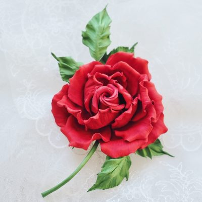 first leather rose video course