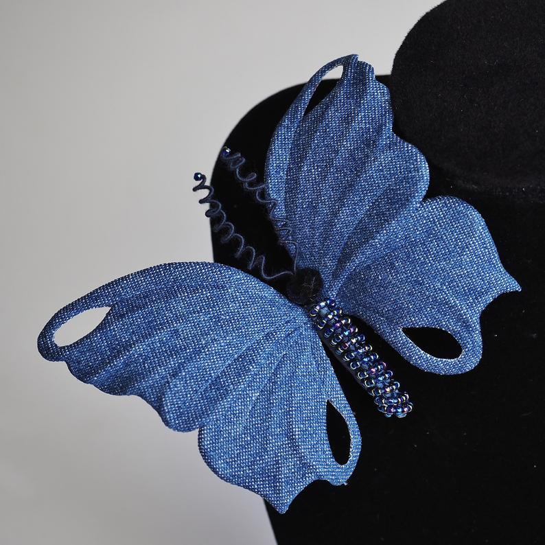 denim butterfly