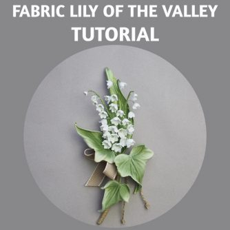 fabric lily of the valley tutorial