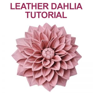 Leather Dahlia Tutorial