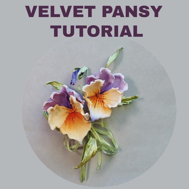 velvet pansy tutorial