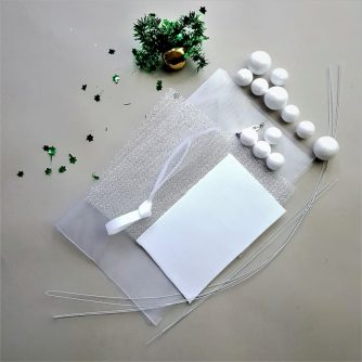 fabric snowberry diy kit