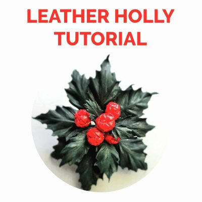 leather holly tutorial