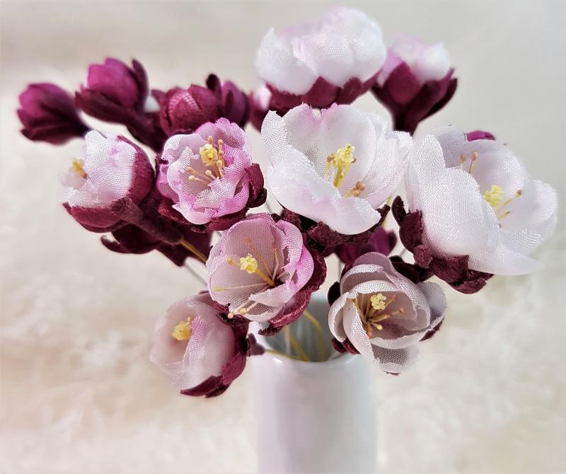 silk plum blossom video tutorial