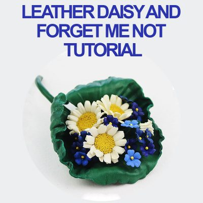leather daisy tutorial