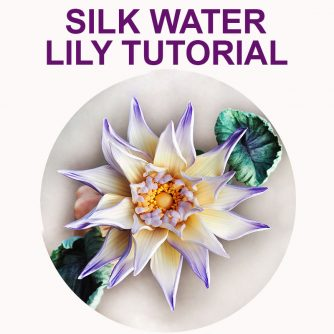 silk water lily tutorial