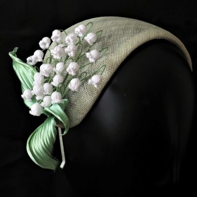 lily of the valley spring headpiece main