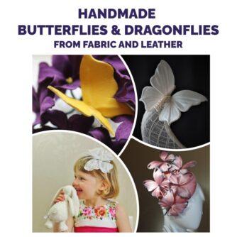 online event on handmade butterflies and dragonflies