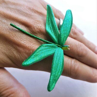 handmade butterflies and dragonflies