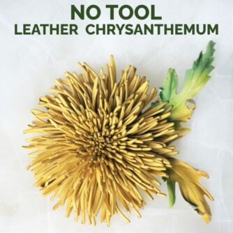 leather chrysanthemums online event